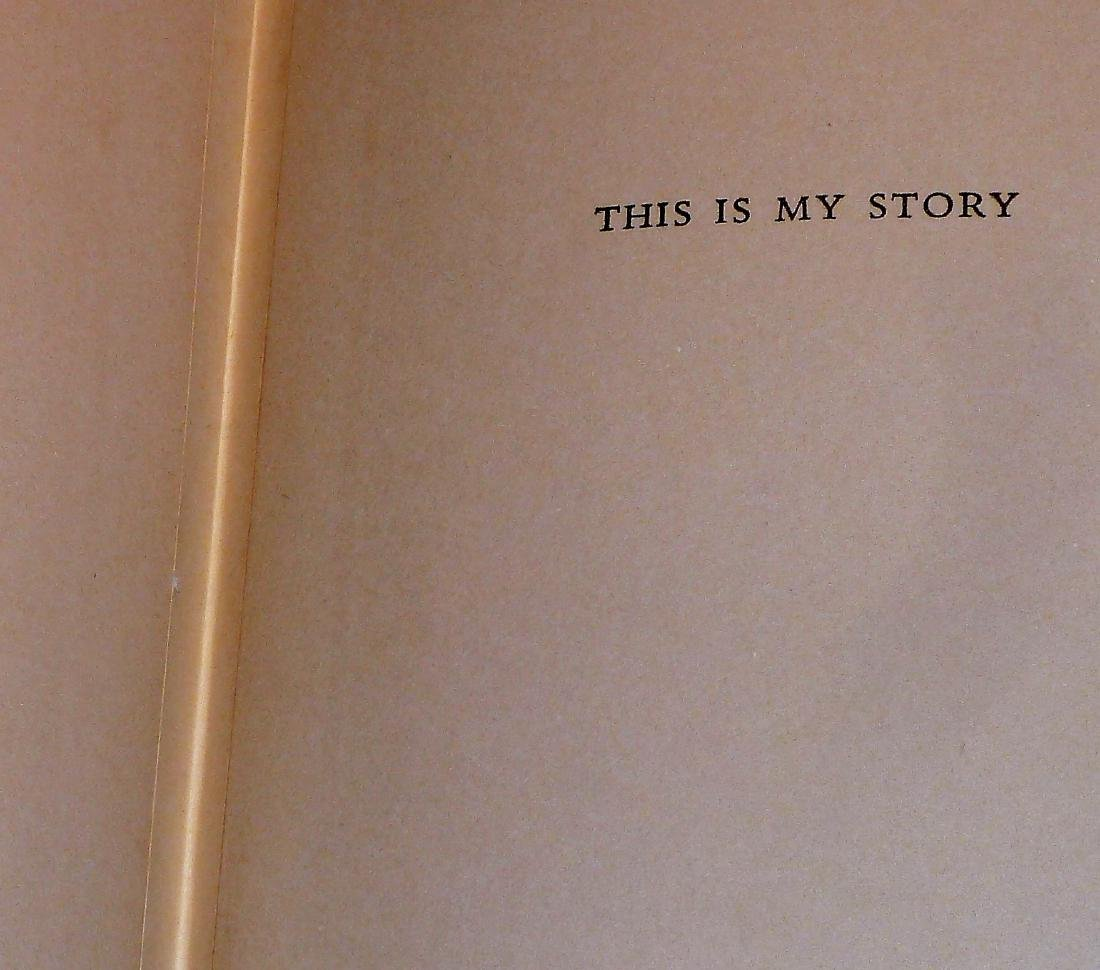 This Is My Story, Signed - 4