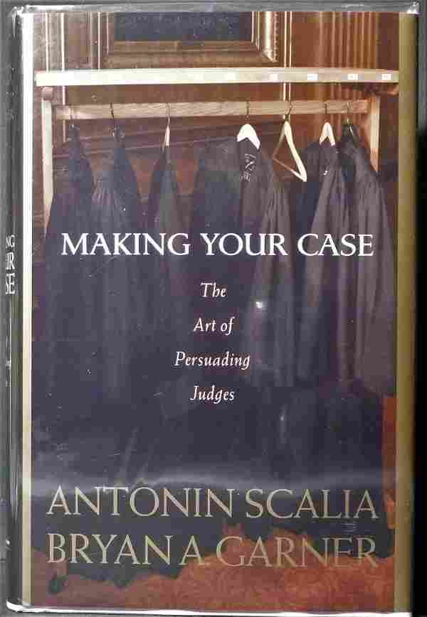 Making Your Case, Signed