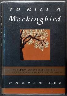 To Kill A Mockingbird, Signed