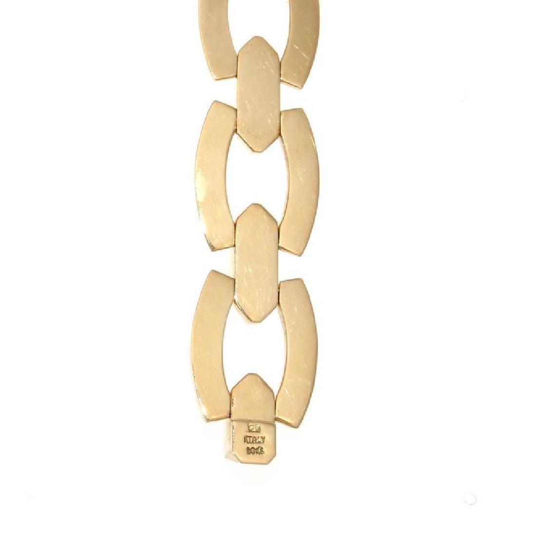 Italian 14K Gold Bracelet - 3
