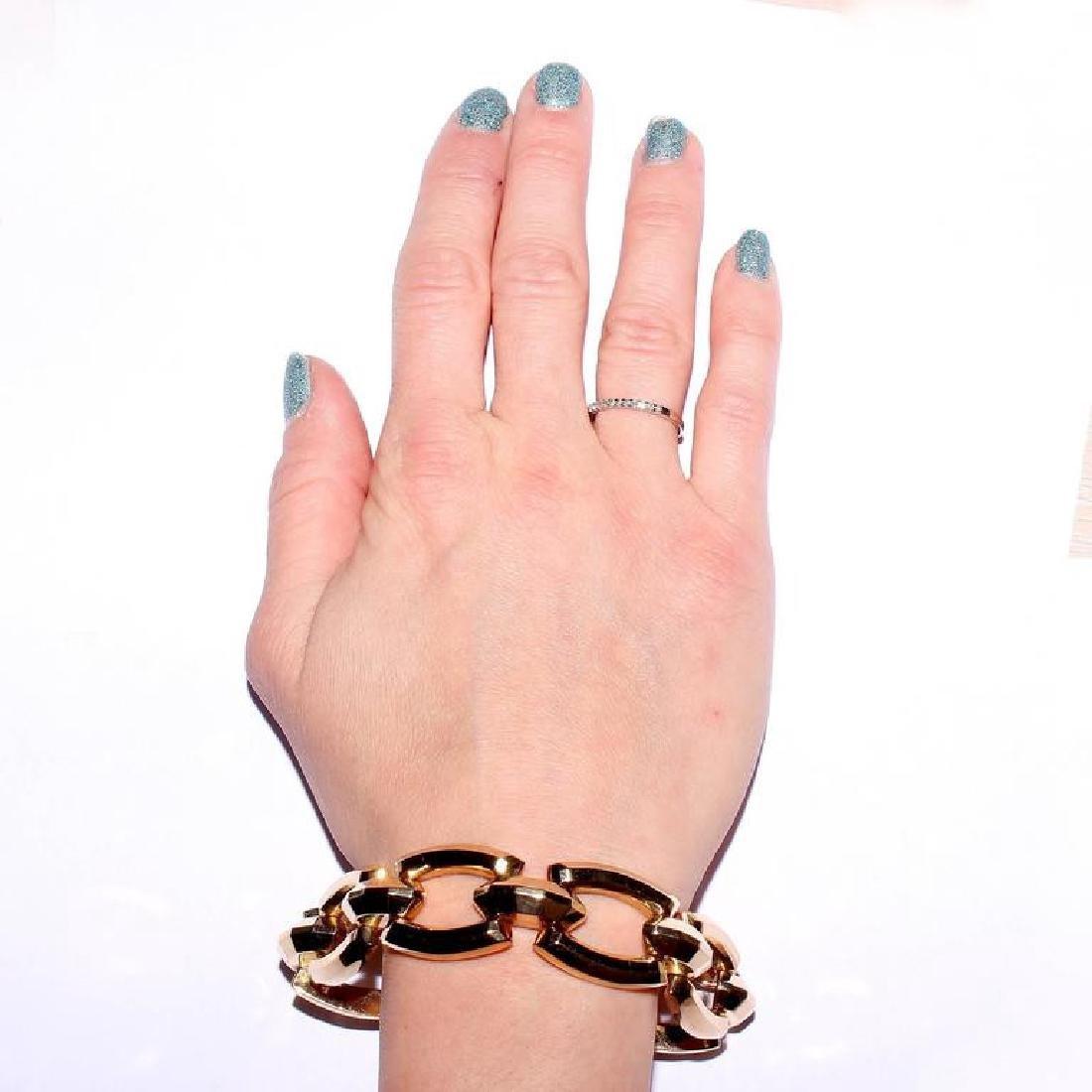 Italian 14K Gold Bracelet - 4