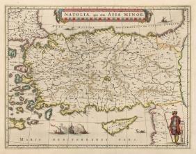 Natolia quae olim Asia Minor, 1640