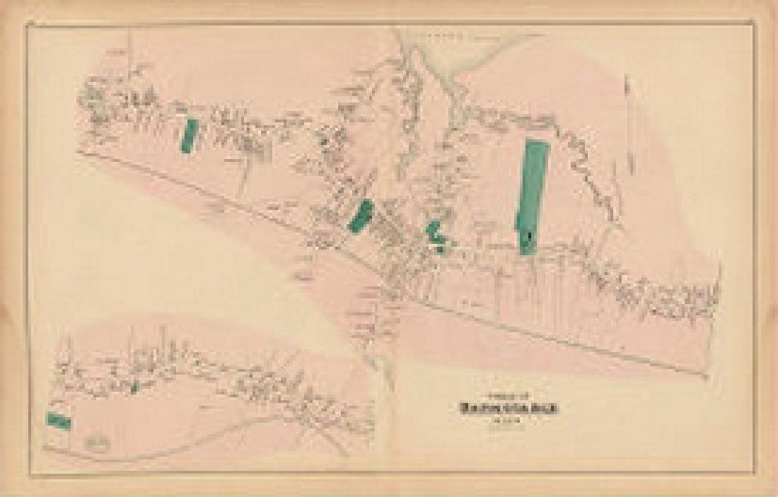 Map of Cape Cod - Barnstable Village, MA
