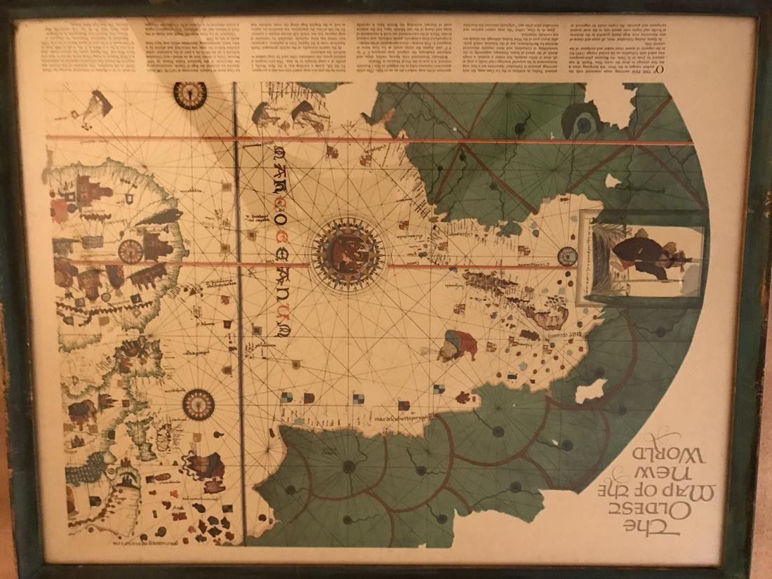 Juen De La Cosa: The Oldest Map of the World