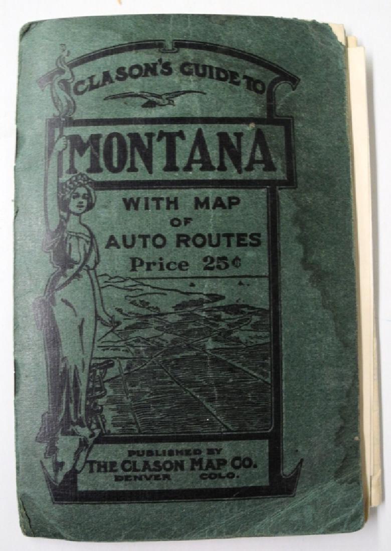 Clason's Guide Map of Montana