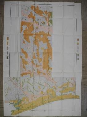 Soil Map Mississippi Biloxi Sheet