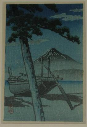 Kawase Hasui: Pine Beach at Miho