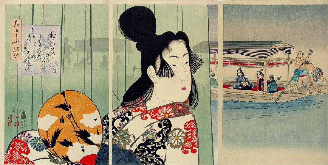 Kobayashi Kiyochika: Flower Patterns