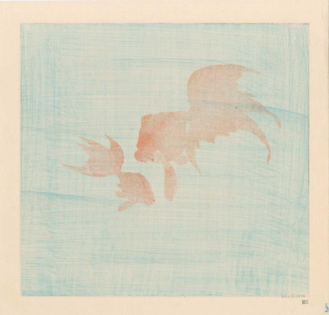 Ohara Koson: Two Goldfish - 2