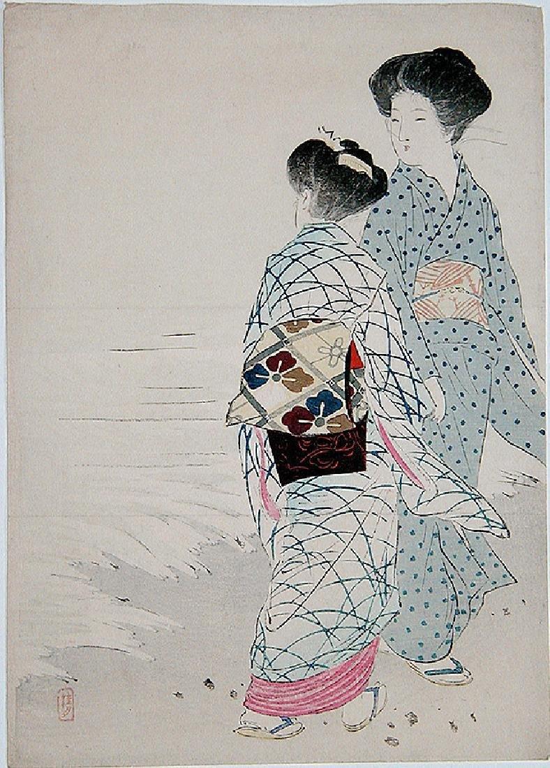 Takeuchi Keishu: Two Women at the Beach