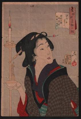 Tsukioka Yoshitoshi: Thirsty