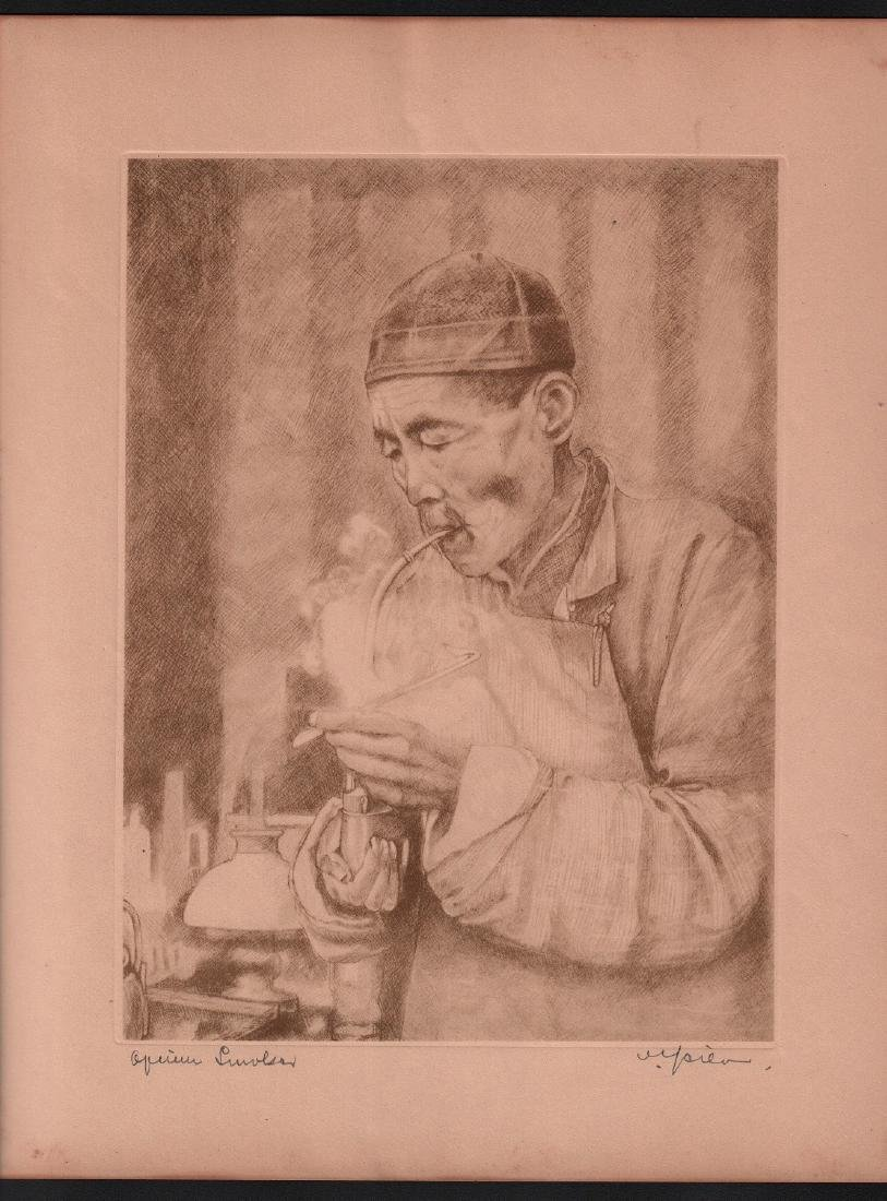 Willy Seiler: Opium Smoker
