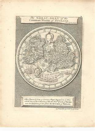 1753 Vertue Great-Seal of the Common-Wealth of England