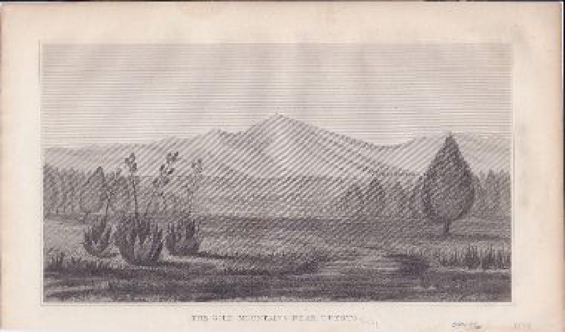 The Gold Mountains Near Tuerto. [New Mexico]