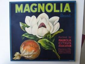 """""""Magnolia"""" Original Crate Label"""