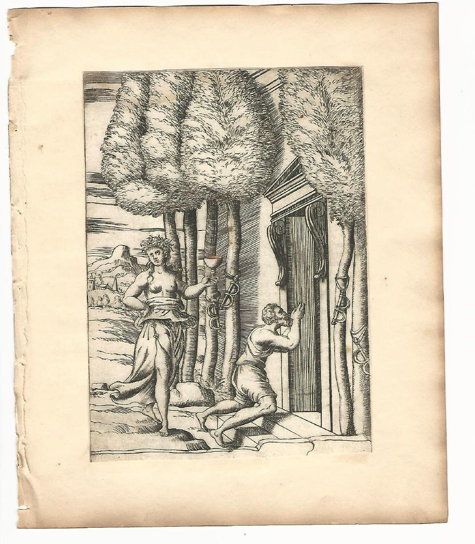1587 Engraving Vincenzo Cartari Mythology