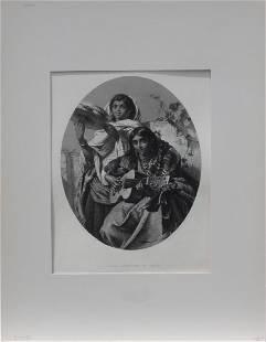 Gypsy Musicians of Spain, C. 1880