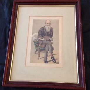 Charles Robert Darwin, Spy Series