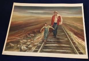 Prairie Travelers, Edward Millman