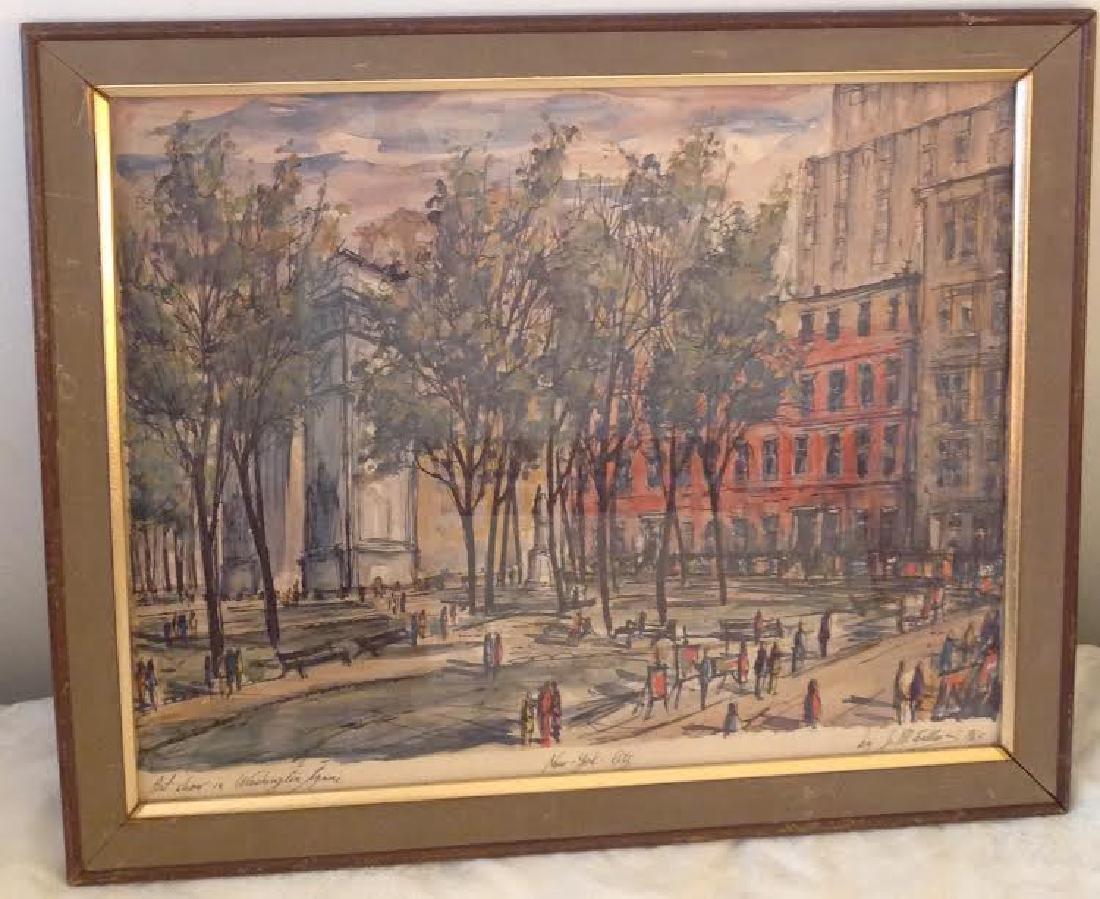 Art Show in Washington Square, JM Gallais