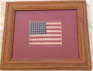 Antique United States Flag, 48 Stars