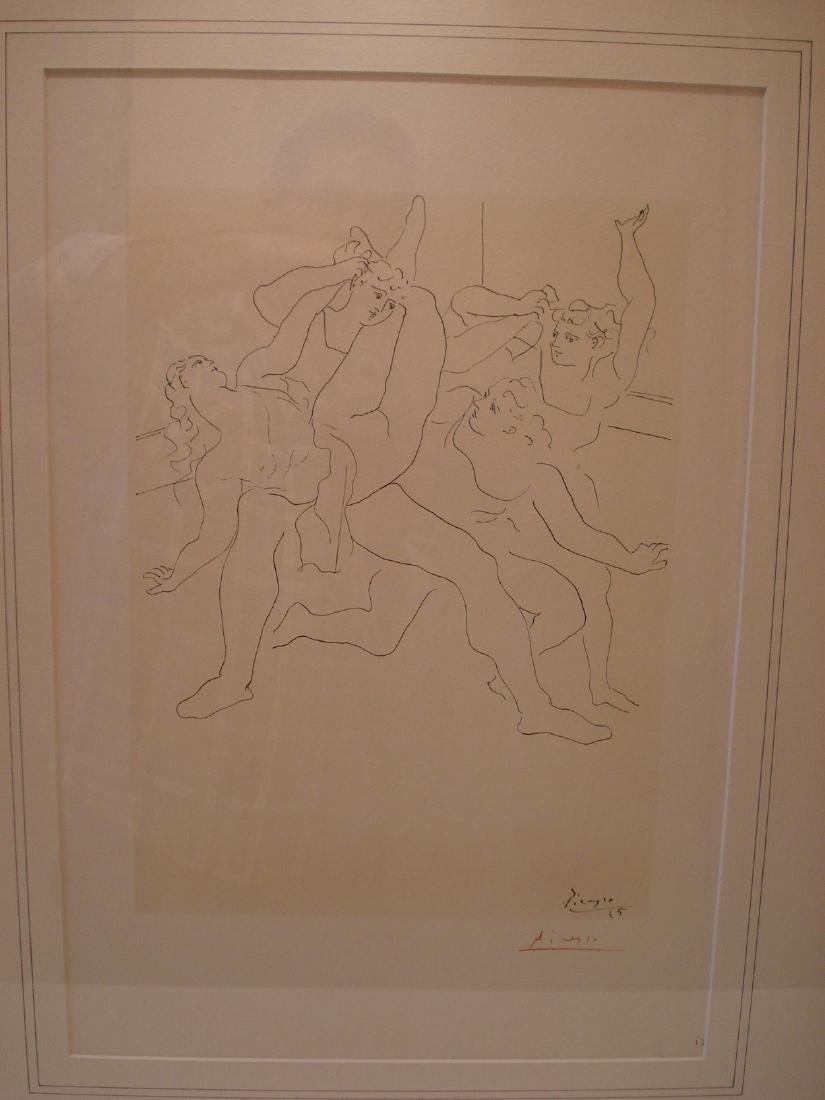 Picasso: 4 Ballet Dancers, Signed - 2