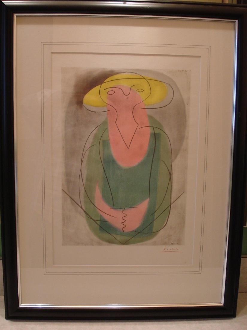 Picasso: Portrait of a Lady, Signed