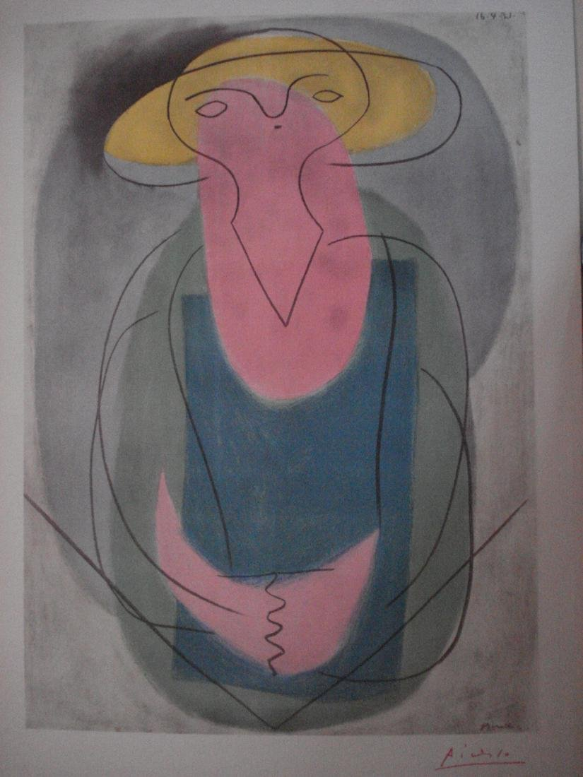 Picasso: Portrait of a Lady, Signed - 2