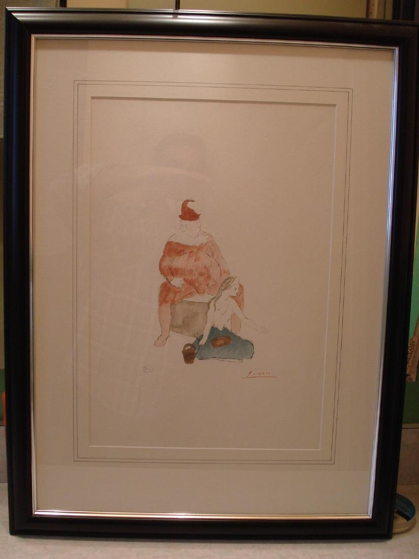 Picasso: Saltimbanque, Signed