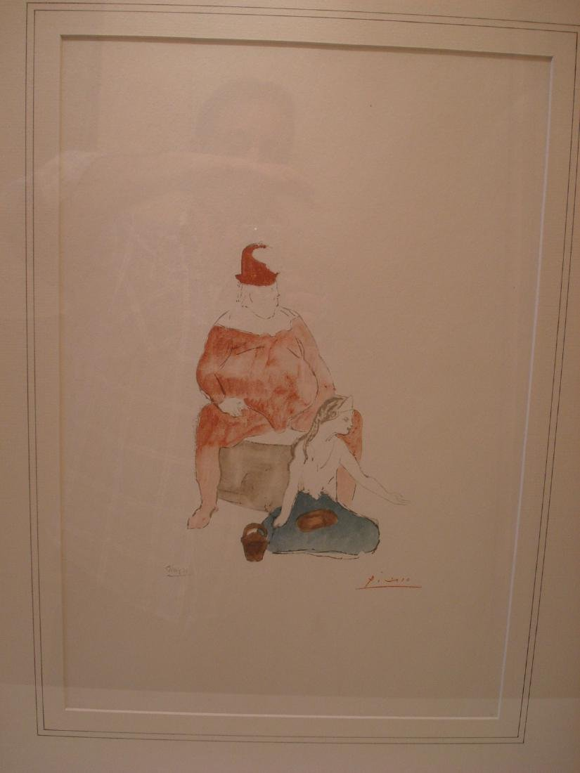 Picasso: Saltimbanque, Signed - 2