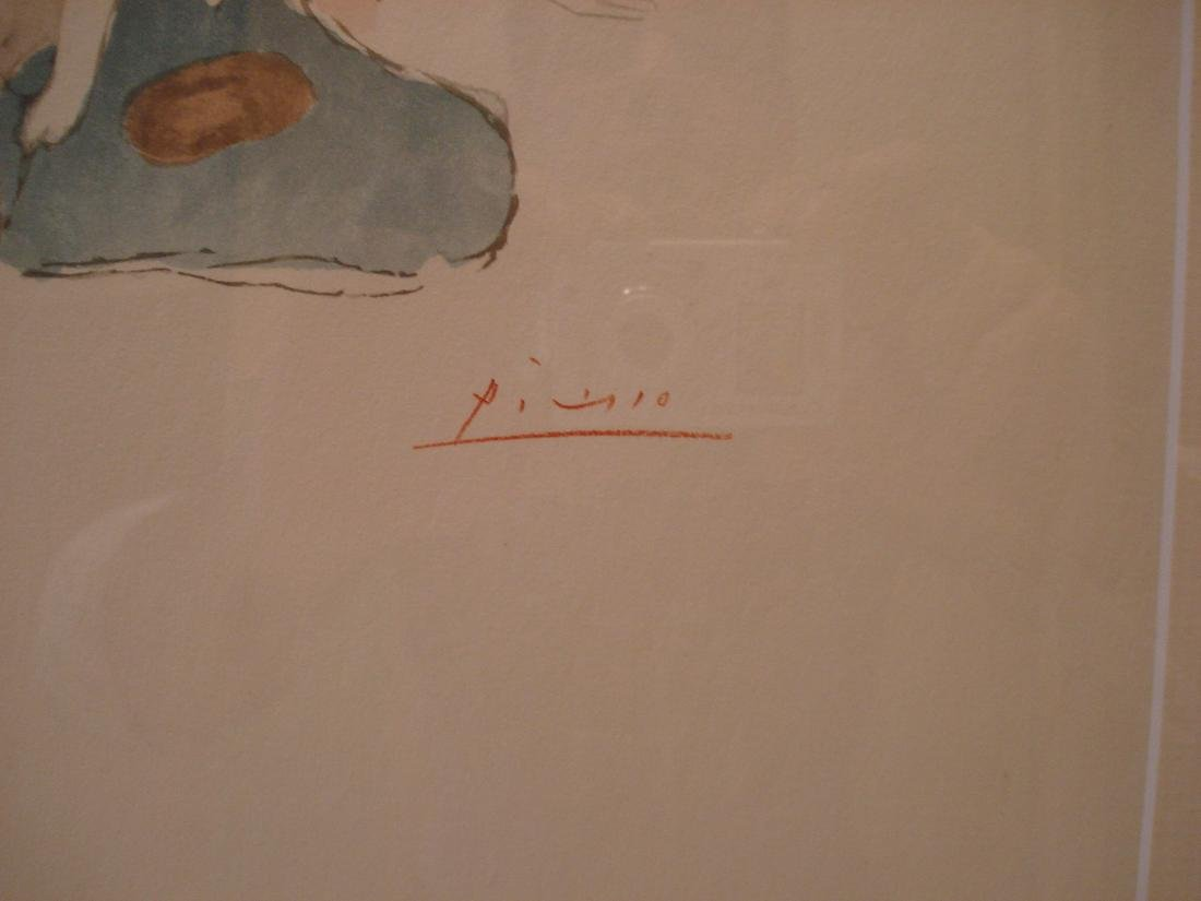Picasso: Saltimbanque, Signed - 3