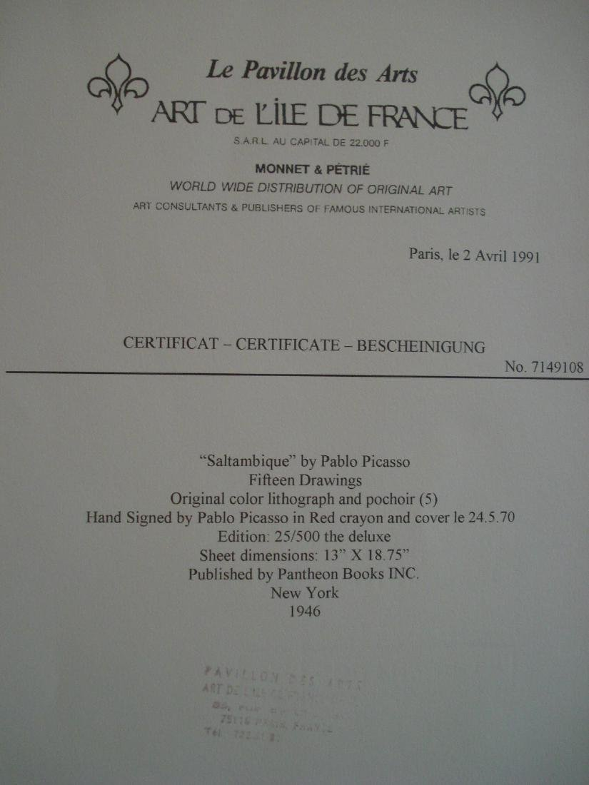 Picasso: Saltimbanque, Signed - 4