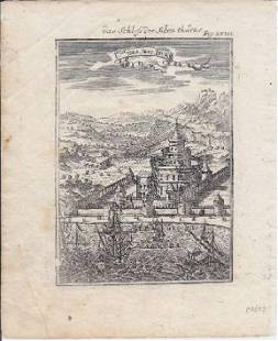 Castle Of The Seven Towers Near Constantinople