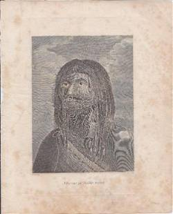 A Savage Of Nootka Sound. [Portrait Of A Native Man]
