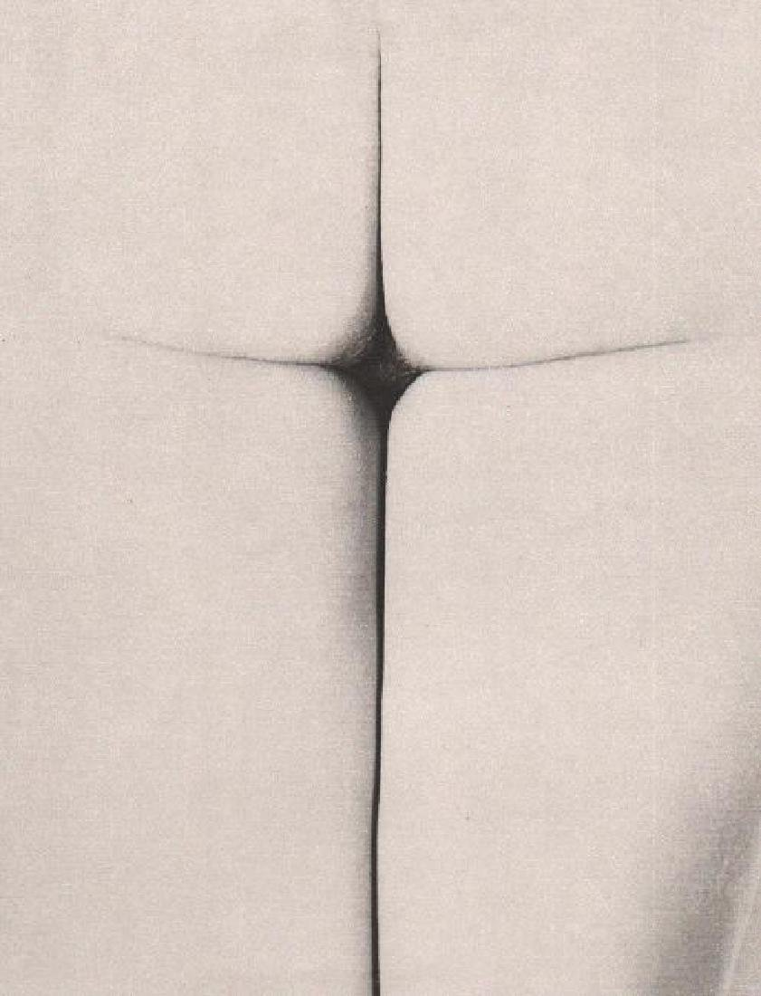 ERWIN BLUMENFELD - Cross of the Devil, NY 1955