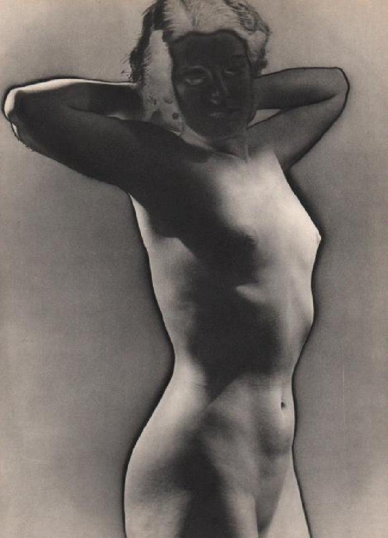 MAN RAY - Etude de Nu (solarized)