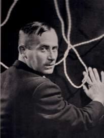 MAN RAY - Portrait of Joan Miro