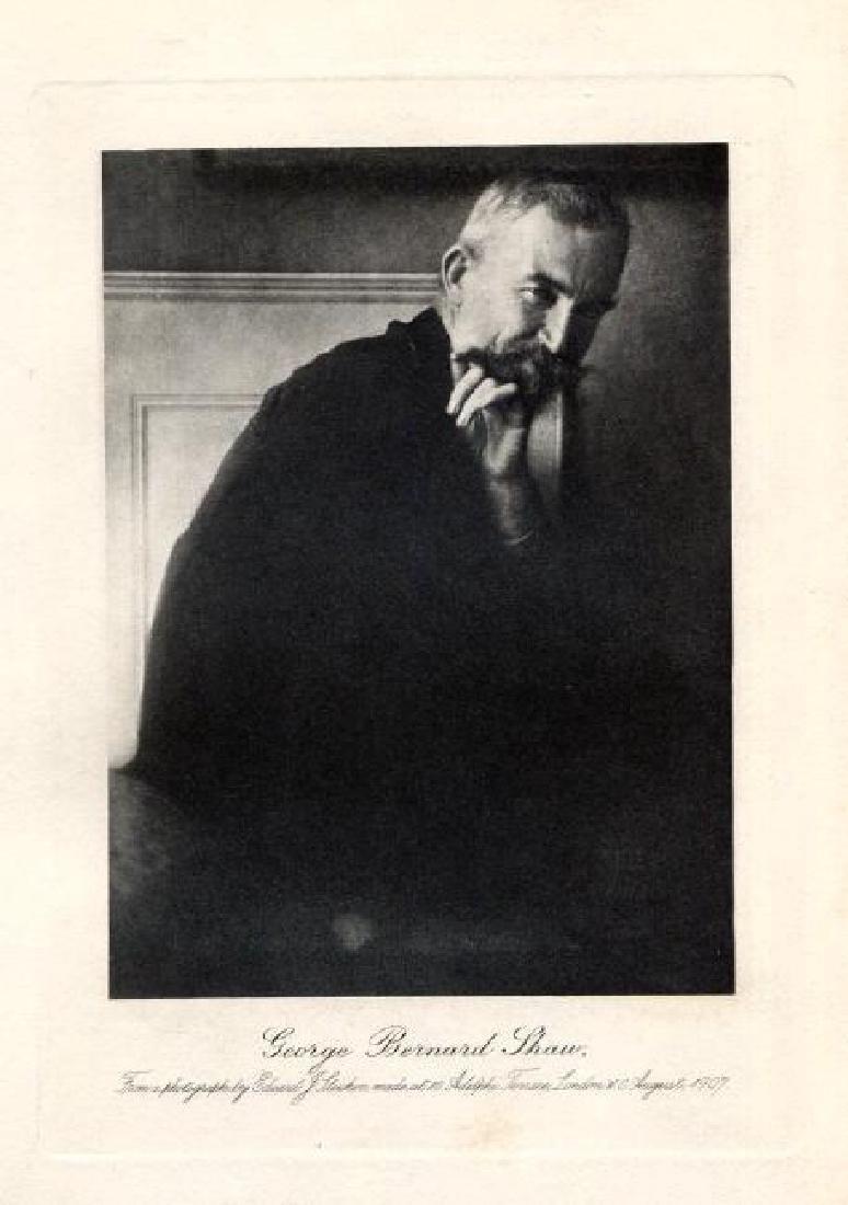 EDWARD STEICHEN - George Bernard Shaw, 1907