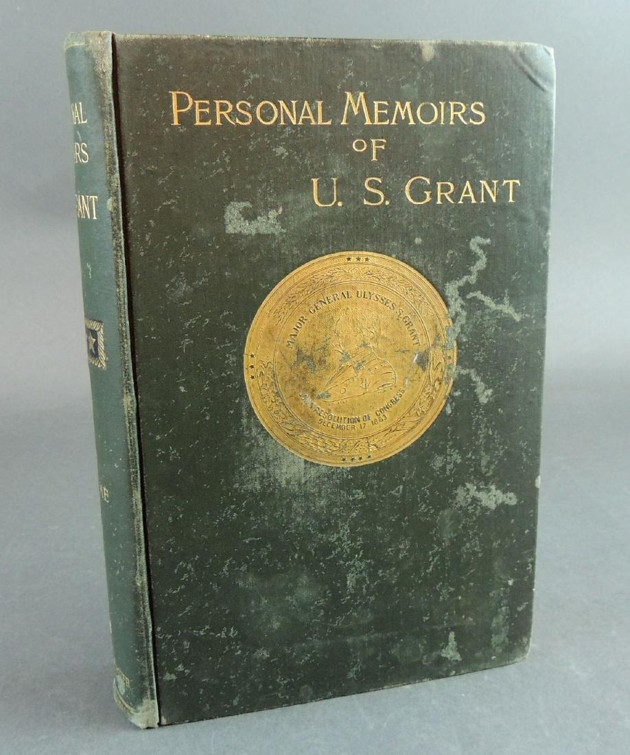 Personal Memoirs of Ulysses S. Grant, 1st Ed, Vol 1