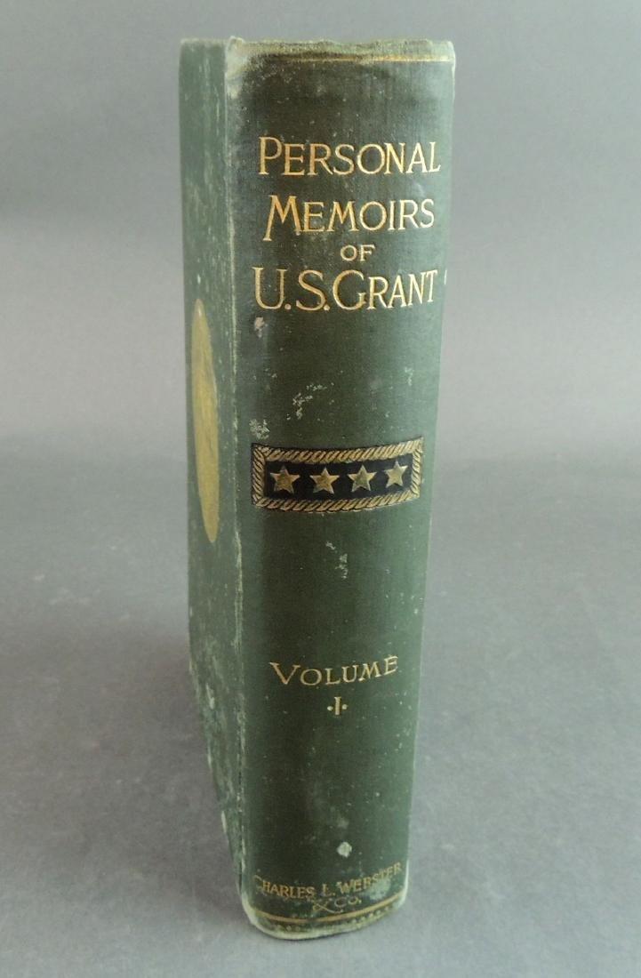 Personal Memoirs of Ulysses S. Grant, 1st Ed, Vol 1 - 3