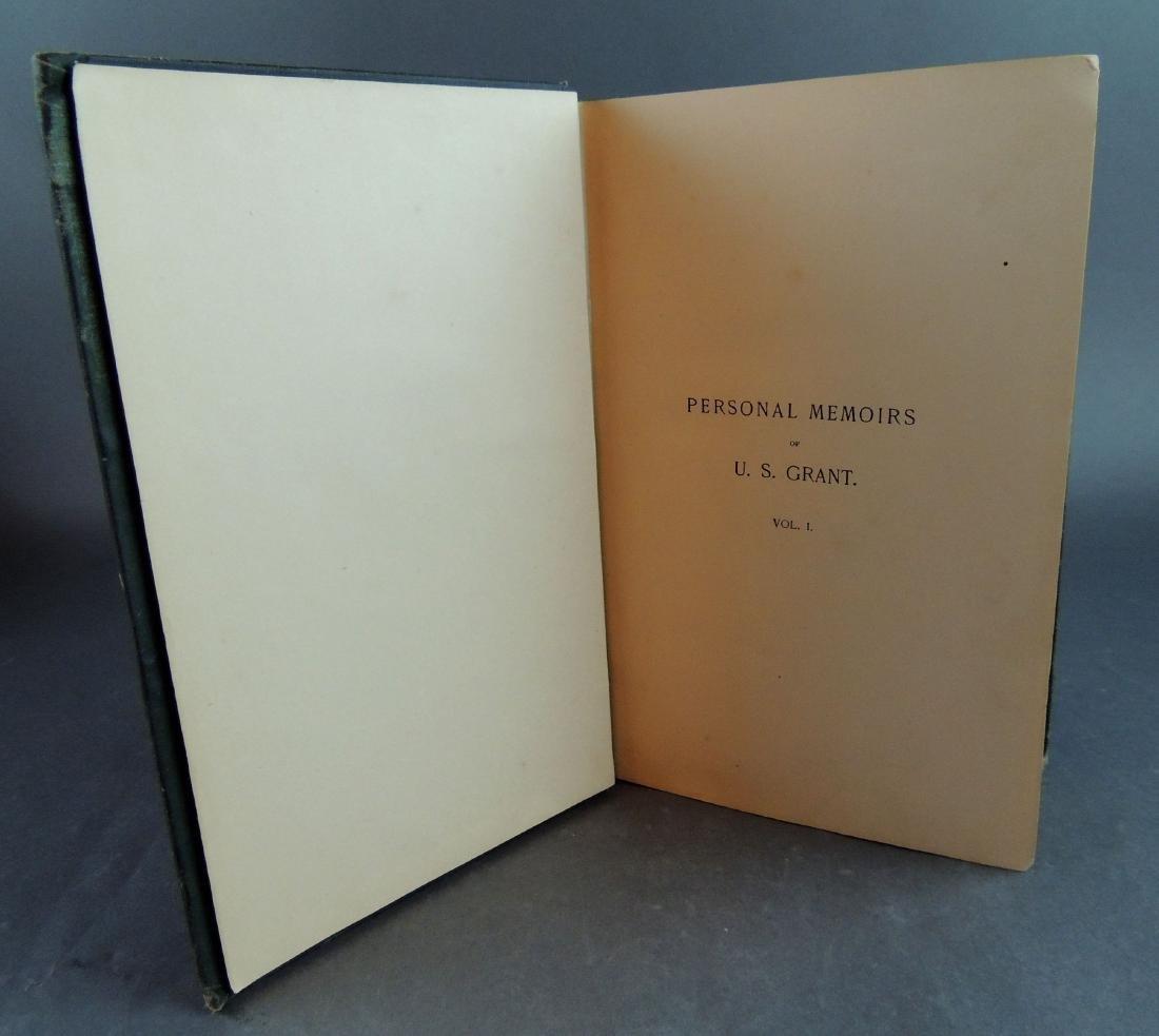 Personal Memoirs of Ulysses S. Grant, 1st Ed, Vol 1 - 4