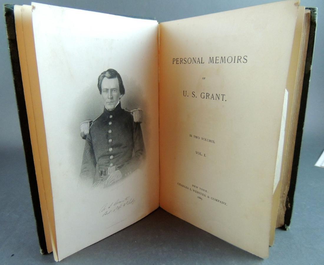 Personal Memoirs of Ulysses S. Grant, 1st Ed, Vol 1 - 7