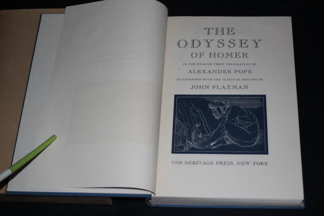 Homer. The Odyssey. 1942 - 3