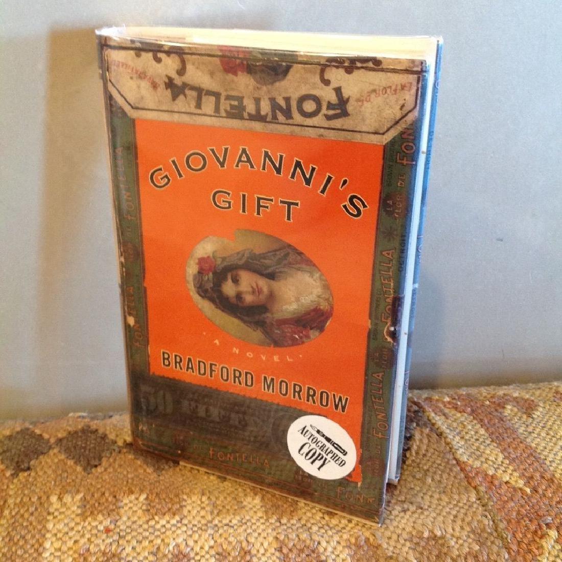 Bradford Morrow: Giovanni's Gift, 1997 - Signed