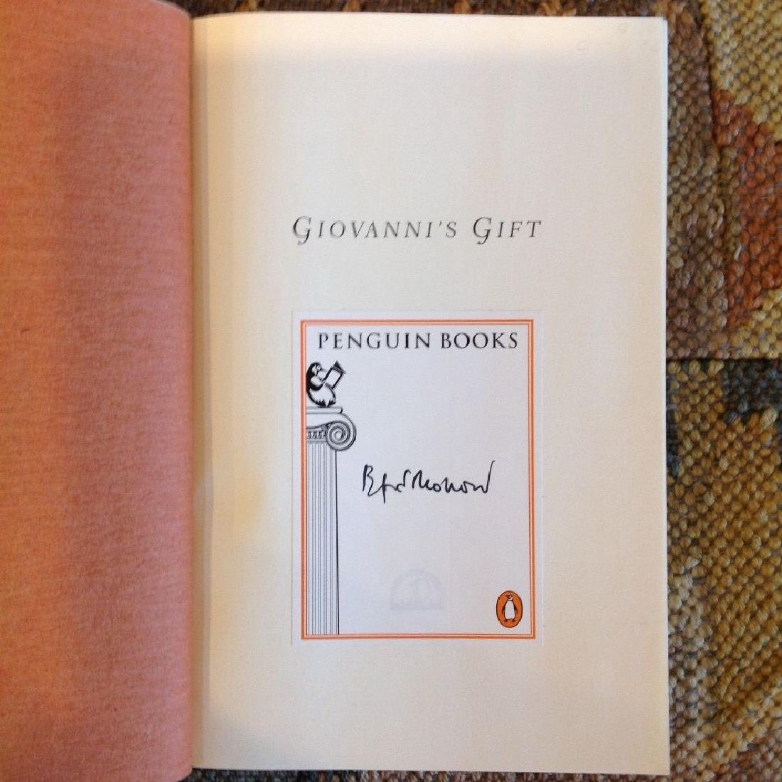 Bradford Morrow: Giovanni's Gift, 1997 - Signed - 4