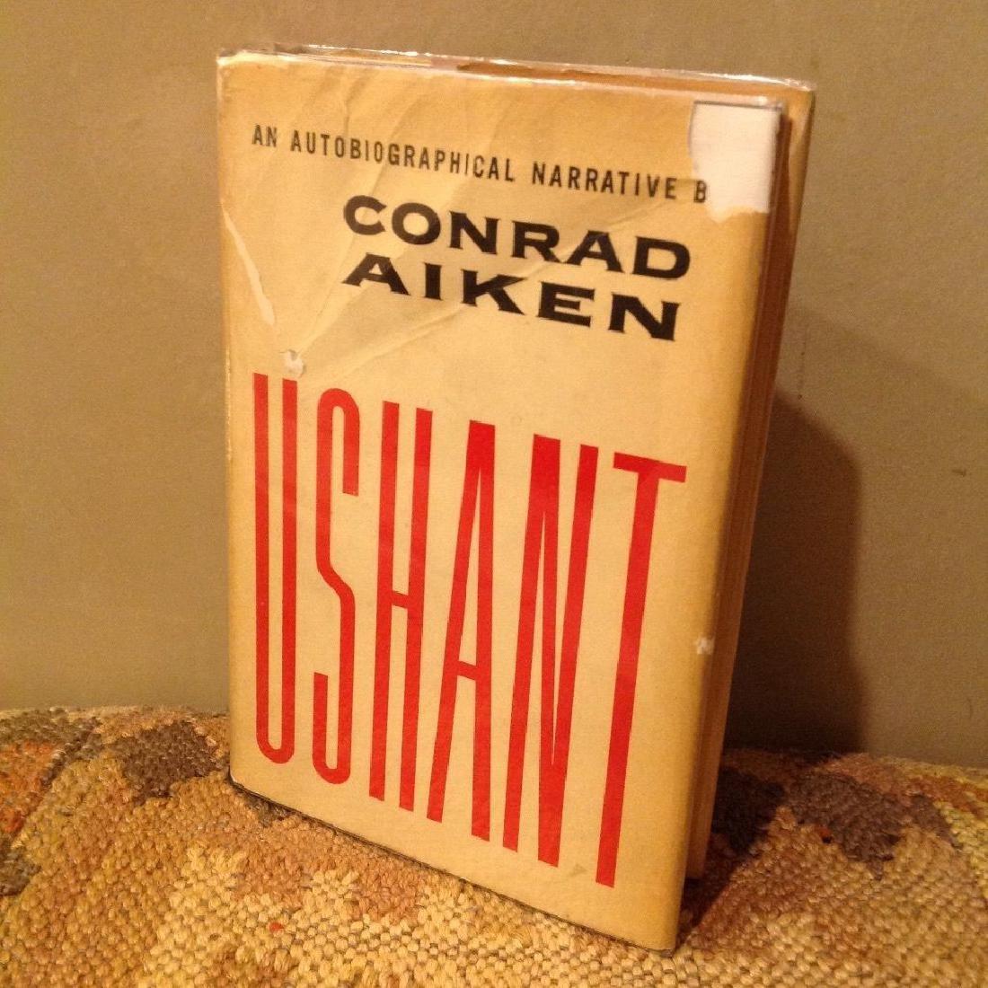 Conrad Aiken: Ushant, 1952 1st Ed
