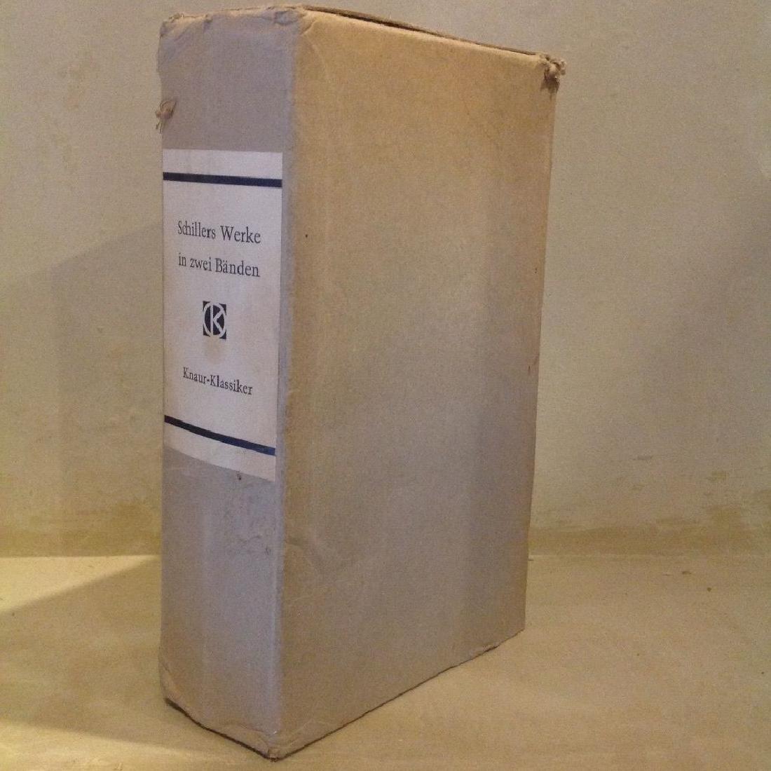 Schillers Werke, in Zwei Banden (2 Volumes, 1964)