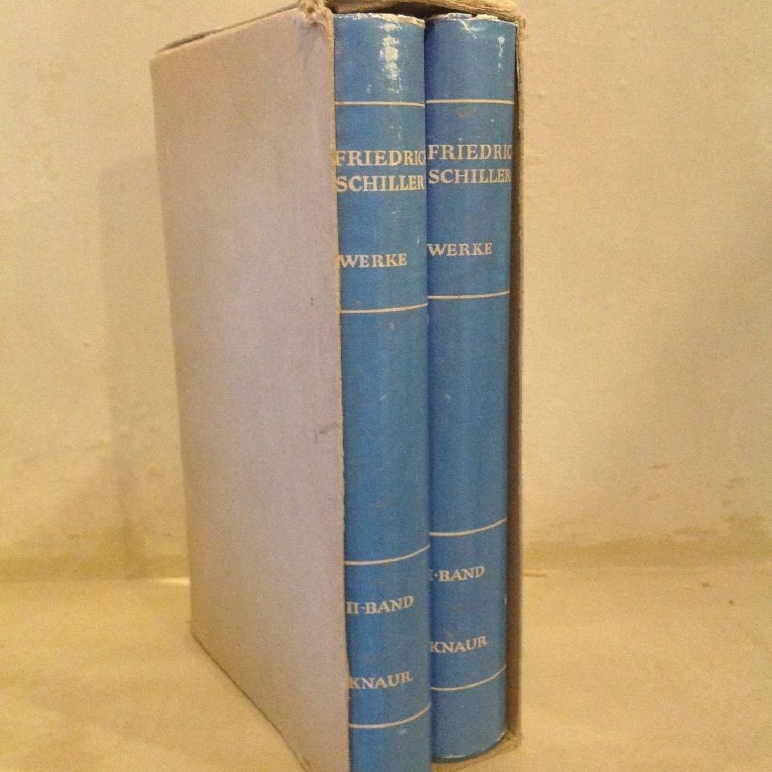 Schillers Werke, in Zwei Banden (2 Volumes, 1964) - 2