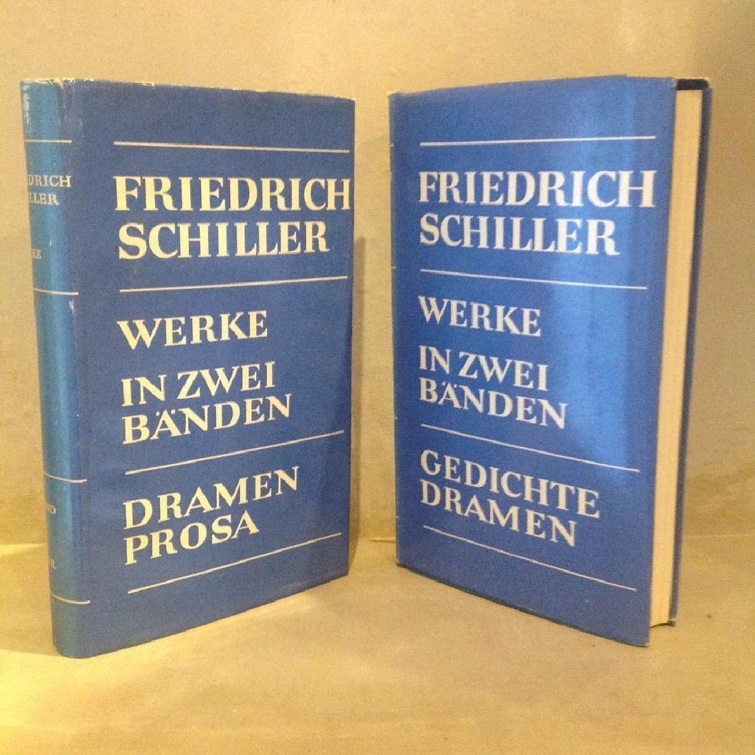 Schillers Werke, in Zwei Banden (2 Volumes, 1964) - 3