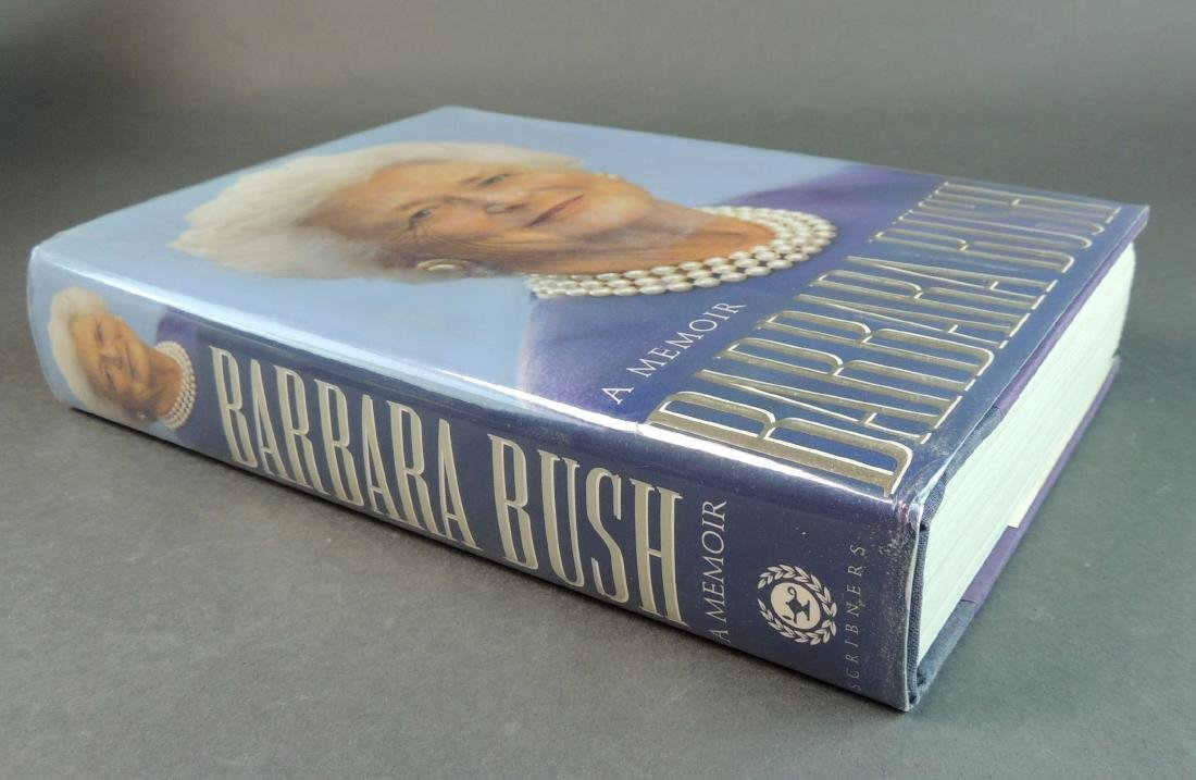 A Memoir Barbara Bush - Signed - 10